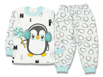 Пижама пингвин бирюза 96467
