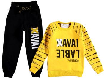 Спортивный костюм 5/8 лет желтого цвета 309293